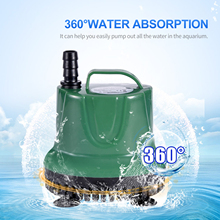 PUMP-FILTER Tank-Fountain-Tool Submersible Aquarium Hydroponics Fish-Pond Ultra-Quiet