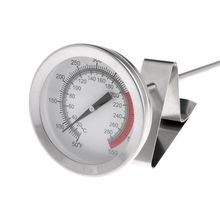 Frying Oil Fryer Fries Fried Chicken Wings BBQ Grill Thermometer 40cm Long Probe