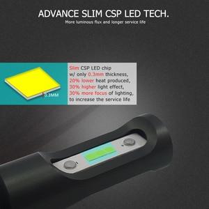 Image 2 - CNSUNNYLIGHT Slim CSP LED Car Headlight Bulbs H4 H7 H11/H8 H1 9005 9006 H13 9004 H27 H3 42W 7000Lm 5500K Auto Headlamp Fog Light