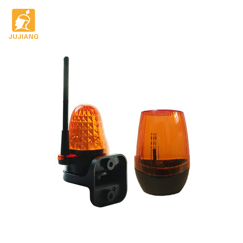 Universal 12v 18v 24v 110v 220v ac/dc conduziu a luz automática garagem deslizante/swing portão abridor flash alarme lâmpada blinker segurança