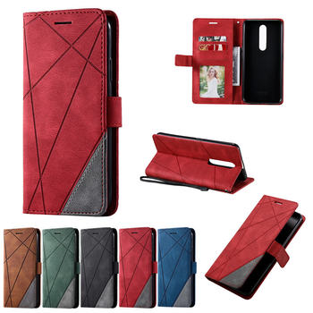 Flip PU Leather Etui For OPPO F17 F 17 Pro Retro Luxury Shockproof Stand Case for OPPO F11 F 11 Pro Magnetic Back Book Cover