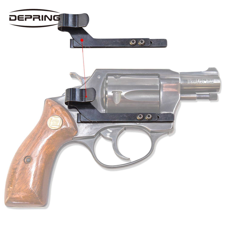 مخفي حمل بندقية كليب الحافظة العالمي يناسب جميع المسدسات التوافق العالمي بندقية كليب للمسدسات