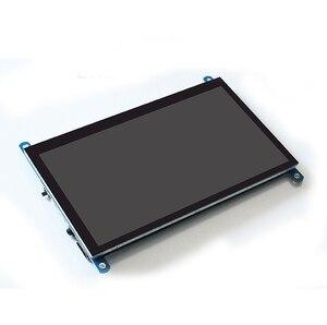 7 дюймов сенсорный экран Экран Панель IPS raspberry Дисплей ЖК дисплей DIY монитор емкостный сенсорный HDMI Дисплей 1024x600 Портативный HD Дисплей|Мониторы|   | АлиЭкспресс