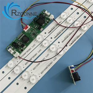 Image 5 - 651mm*17mm 9leds LED Backlight Lamps LED with inverter for 32 inch  TV Monitor Panel and billboard
