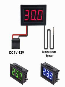Sensor-Meter Incubator Weather-Station-Monitor Digital-Thermometer Temperature Outdoor