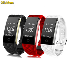 Sport Smart Bracelet Heart Rate Monitor IP67 Fitness Bracelet Tracker Smart Wristband Bluetooth For Android IOS PK miband 2 newest c5 heart rate monitor smart wristband bluetooth 4 2 smart bracelet doe andriod ios system