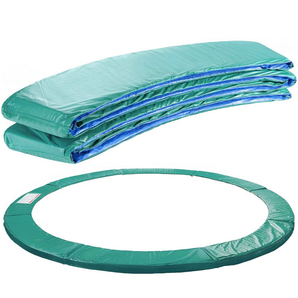 Hot Round Trampoline Replacement Safety Mat Tear Proof Trampoline Edge Cover Spring Cover Surround Foam Safety Protection Device