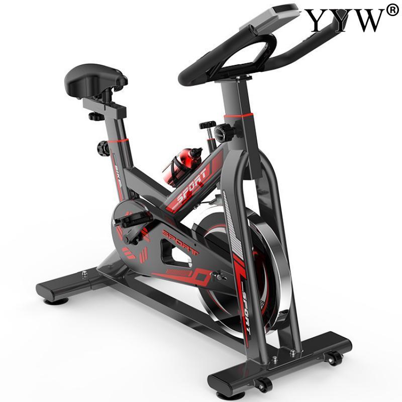 dinâmico vermelho spinning treinamento da bicicleta equipamentos