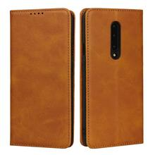 Magnetic PU leather Flip case for Oneplus one plus 7 1+7 Stand wallet protective Case Pro 1+7Pro