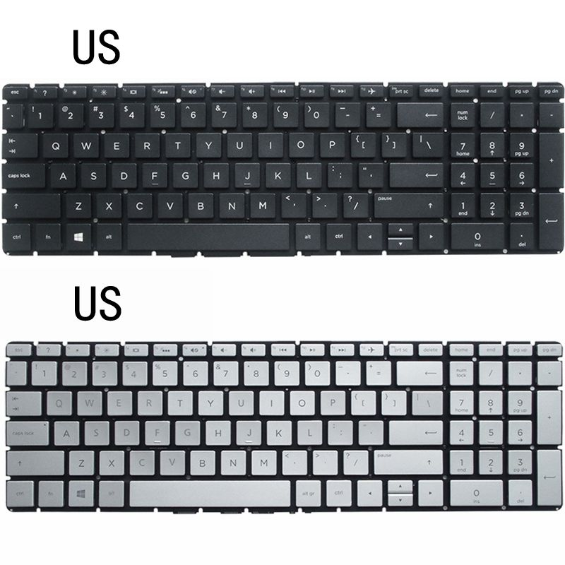 NEW US/UK/SP LAPTOP <font><b>KEYBOARD</b></font> FOR <font><b>HP</b></font> 15-BS <font><b>250</b></font> <font><b>G6</b></font> 255 <font><b>G6</b></font> 256 <font><b>G6</b></font> 15Q-BD 17G-BR image