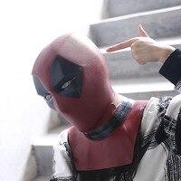 Deadpool Mask Masque PVC Cosplay Mask Full Head Helmet Halloween Prop