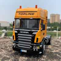 1:32 тяжелый грузовик сплав модель автомобиля для Scania R620 19 см в длину