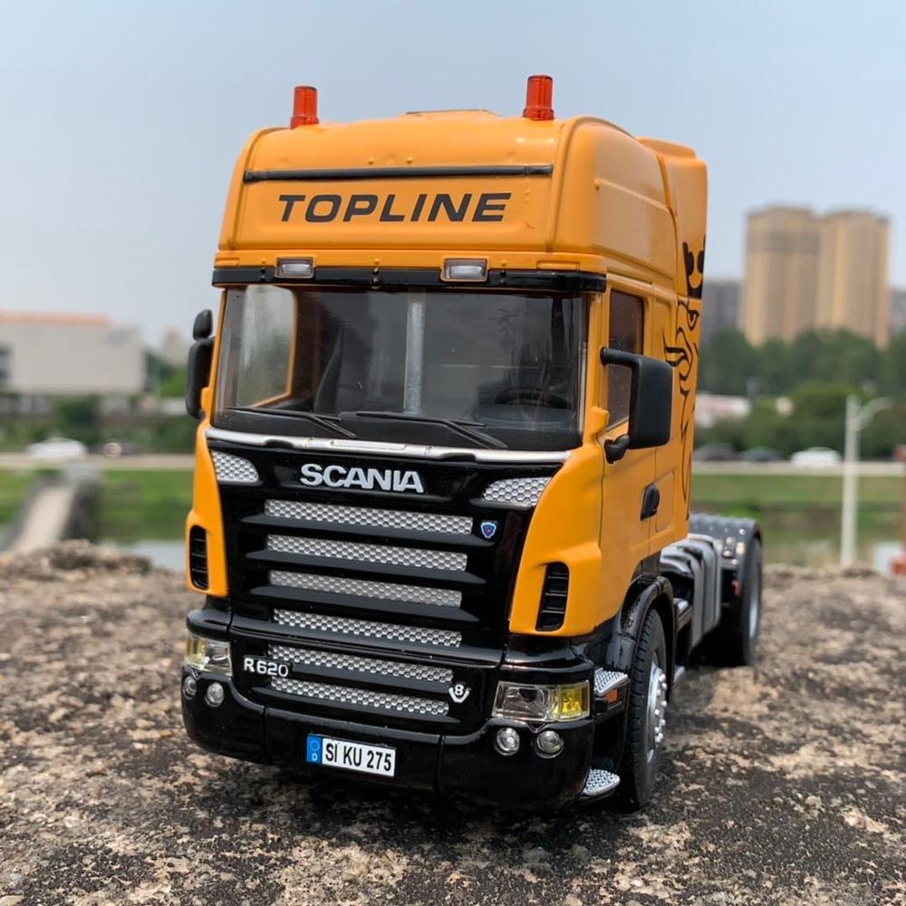 1:32  Heavy Truck Alloy Car Model For Scania R620 19cm Long