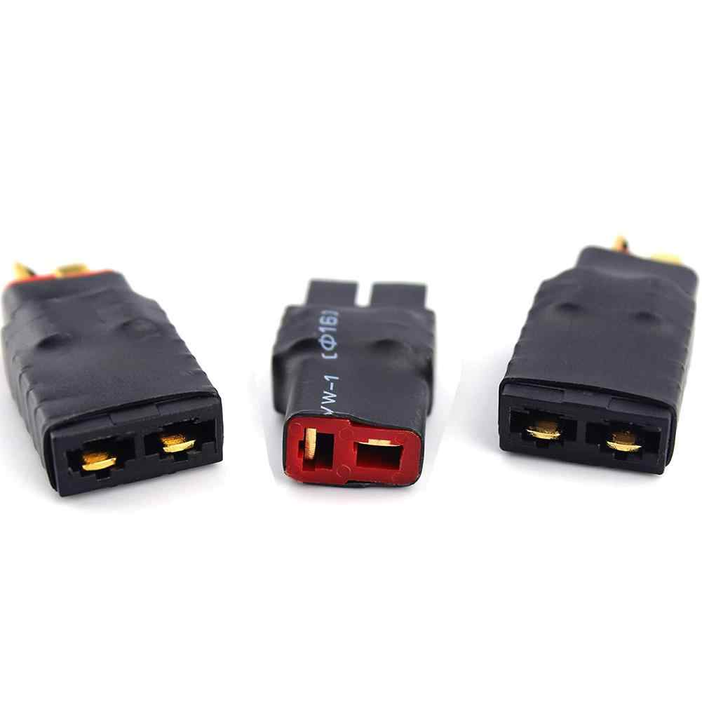 1PC mâle t-plug Deans à femelle TRX Traxxas connecteur adaptateur pour batterie RC ESC & chargeur