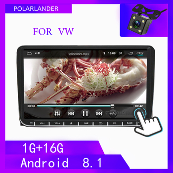 Android WIFI Multimedia Mirrror Link 2DIN Multimedia Car Player Canbus For VW Polo Volkswagen Passat Autoradio For SKODA GOLF 5 image
