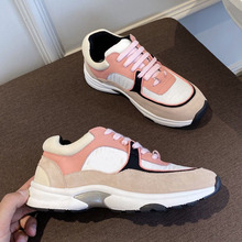Couple Shoes Matching Fashion Famous-Brand Female Color Casual Ladies Lace-Up High-Quality
