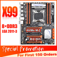 X99 Ddr3-Up Quad-Channel JINGSHA X99-8D3 with 256GB 0 To 3-Way PCIE 3rd Gen X16-Slots