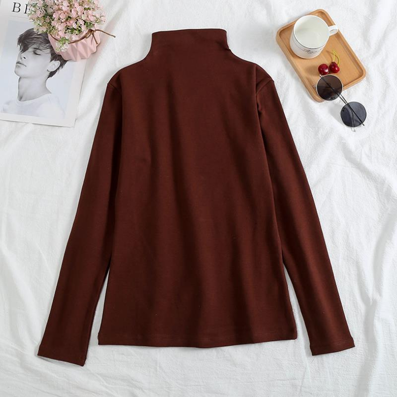 Plus Size Women's Knitting Turtleneck Sweaters With Long Sleeves Keep Warm Shirt Autumn Winter Female Pullover Sweater