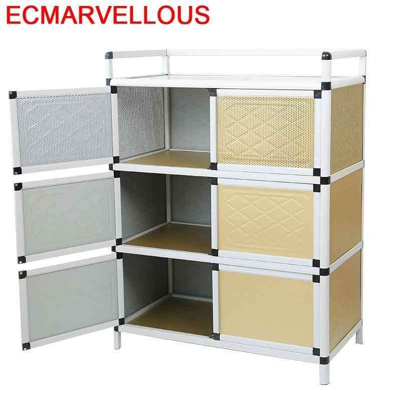 Mueble Aparador China Besteklade Aparadores Capbords Cupboard Aluminum  Alloy Meuble Buffet Kitchen Furniture Cabinet Sideboard