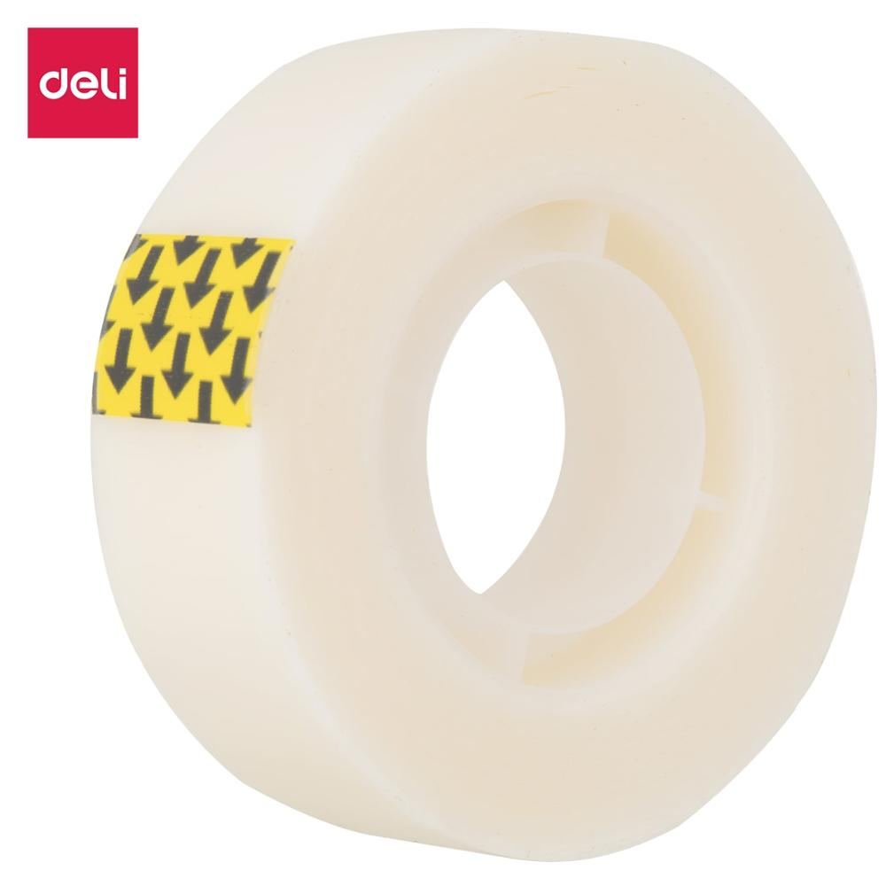 DELI EA30110 Invisible Tape 3pcs/Lot Strong Adhesive Non Toxic Acrylic Glue Office School Tapes Stationery