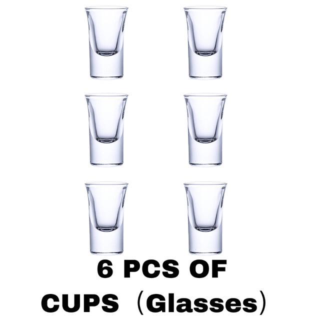 6 Shot Glass Dispenser Holder Drinking Games Shot Glasses Get Party Accessories