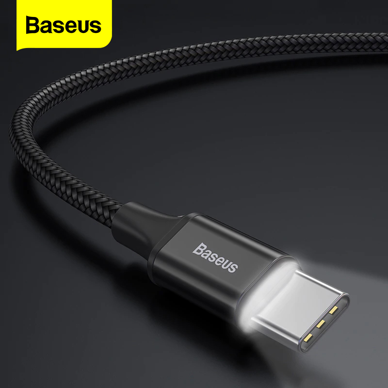 Baseus USB Type C Cable For Samsung S9 S8 Fast Charging Charger Data Cable Type C Cable For Xiaomi Mix 3 Oneplus 6 5 5t USB C|Mobile Phone Cables| |  - AliExpress