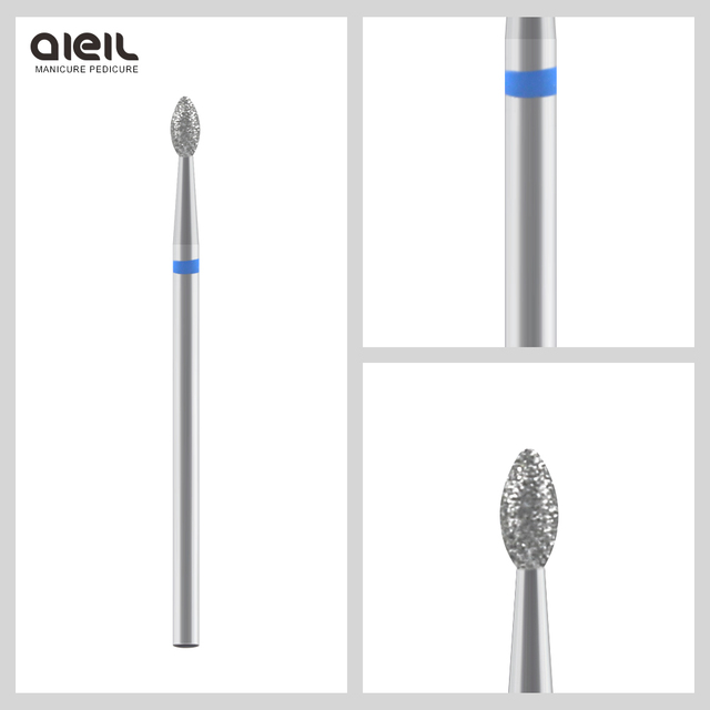 Diamond Nail Milling Cutter Rotary Burr Milling Cutter for Nail Files Cuticle Clean Drill Bits Apparatus for Manicure Art Tools 5