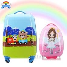 16% 27% 2718 дюймов дети чемодан ручная кладь багаж дети% 27 мультфильм путешествия чемодан прогулка багаж милый тележка сумка дизайнер багаж
