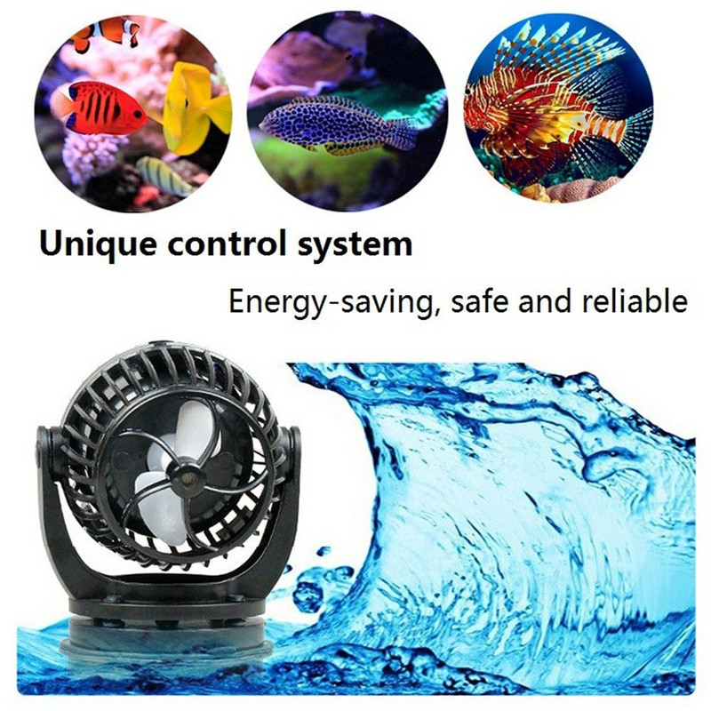 1 Pcs JEBAO SOW Series Aquarium Sine Wave Wave <font><b>Pump</b></font> Frequency Conversion Ultra Quiet Fish Tank Fresh Sea <font><b>Water</b></font> Surfing image