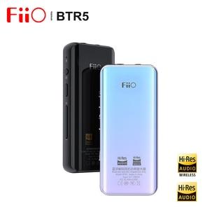Fiio BTR5 ES9218P USB DAC Bluetooth 5.0 Headphone Amplifier AMP Receiver 3.5/2.5mm Output AAC SBC aptX LDAC Car Audio Amplifier