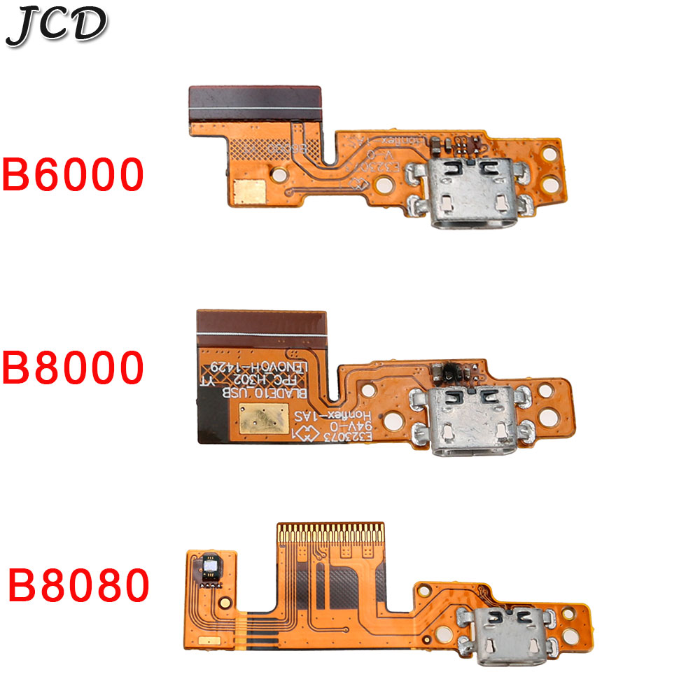 JCD USB Charging Port Dock Connector Jack Charge Board Flex Cable For Lenovo Tablet Pad Yoga 10 B8000 B6000 Yoga 8 B6000 B8080