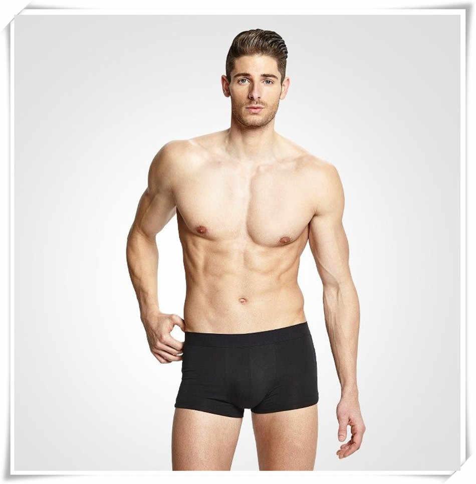 4 sztuk/partia męskie majtki modalne bokserki bielizna wygodne oddychające męskie kalesony Trunk marki szorty Man Boxer