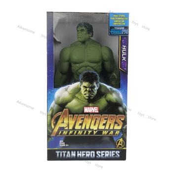Marvel The Avenger Hulk Anime Figure 30cm PVC Action with Box Removable Limbs Funny Birthday Gifts for Children