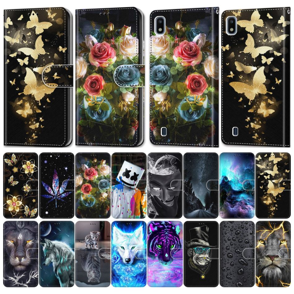 Phone Cover For <font><b>Nokia</b></font> <font><b>3</b></font> 2017 <font><b>3</b></font>.1 Plus 4.2 Leather Flip Phone <font><b>Case</b></font> Girl Boy Phone Bags Cute Funny Pet Beast Beauty Scenery E08F image