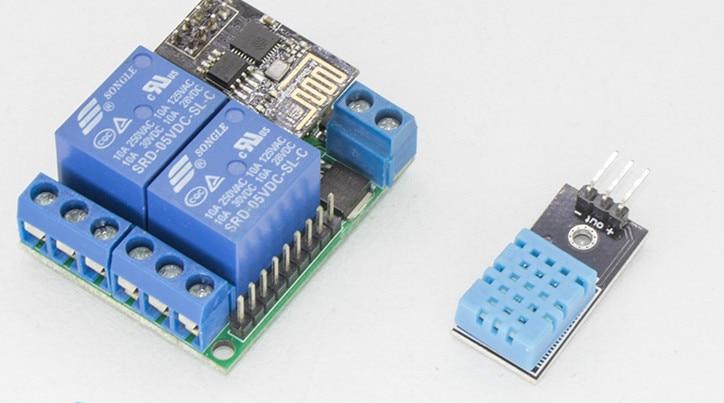 Cross-array IoT Suite Sensor Module Mobile Remote Temperature Detection Two-way Control