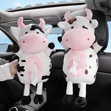 Napkin-Holder Hanging-Tissue-Box Animals Car-Paper-Boxes Car-Seat Cartoon Cute New Soft