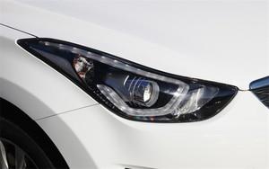 Image 5 - רכב פנס עדשה עבור יונדאי Elantra 2012 2013 2014 2015 2016 פנס עדשת החלפת רכב אוטומטי מעטפת כיסוי