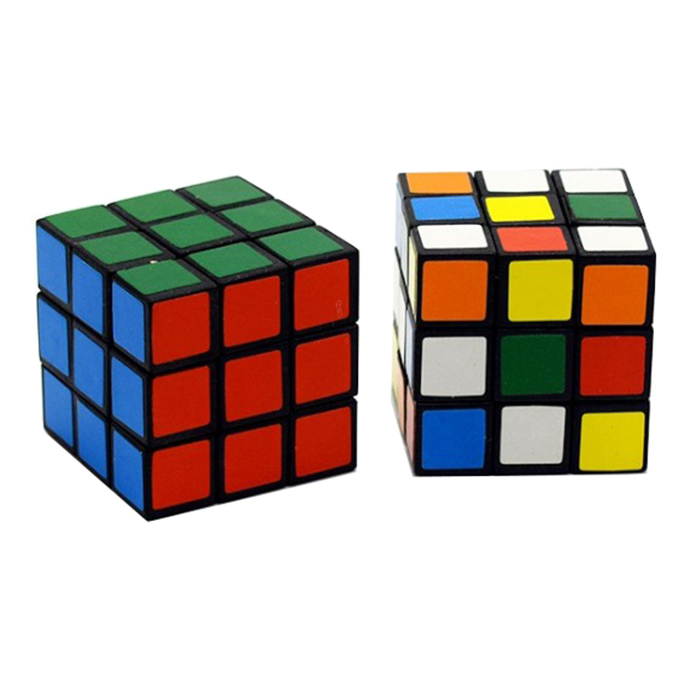 New Style 3CM Children Intelligence Rubik's Cube Three Layer Toy 3-Order Magic Cube Smooth Beginner Speed Twist-Capsule Toy Educ