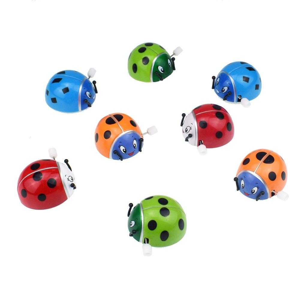 Strange New Interesting Chain Clockwork Ladybug Will Somersault Turned Around Ladybug Supply