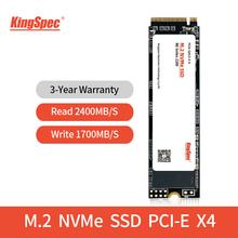 KingSpec ssd m2 nvme M 2 PCIe NVME ssd 128GB 256GB 512GB 1TB ssd dysk twardy ssd mve 2 wewnętrzny dysk twardy SSD do laptopów IPFS tanie tanio M 2 2280 CN (pochodzenie) SM2263XT STAR1000C Read Up to 2400MB s Write Up to 1700mb s Pci-e Pulpit ssd m2 nvme ssd mve 2