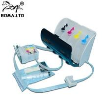BOMA LTD T129 T130 sistema de suministro continuo de tinta para Epson Stylus WF-7015 WF-7515 WF-7525 WF-3520DW WF-3530 WF-3540 arco Chip