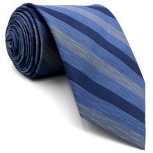 D22 синий полосатый мужской галстук шелковый Модный Классический галстук жениха для мужской одежды