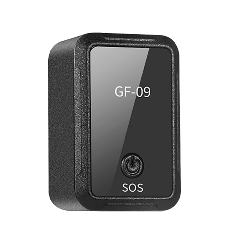 GF-09 Remote Listening Magnetic Mini Vehicle GPS Tracker Real Time Tracking Device WiFi+LBS+AGPS Locator APP Mic Voice Control