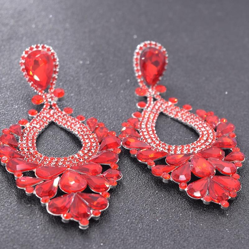 Red earrings for women bride (6)