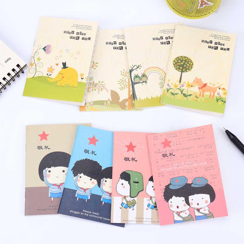 2 Buah Buku Harian Menggambar Lukisan Grafiti Kecil Soft Cover Kertas Kosong Notebook Memo Pad Sekolah Alat Tulis Kantor
