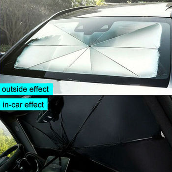 Car Sun Shade Protector Parasol Auto Front Window Sunshade Covers Interior Windshield Protection Accessories - discount item  30% OFF Exterior Accessories