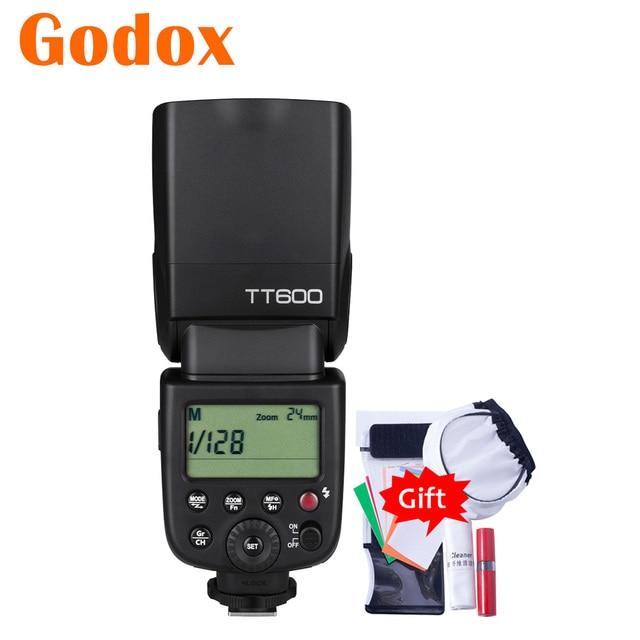 Godox TT600 2.4G HSS GN60 מאסטר Slave מצלמה פלאש עבור Canon Nikon Pentax אולימפוס Fujifilm סמסונג Lumix Panasonic מצלמה