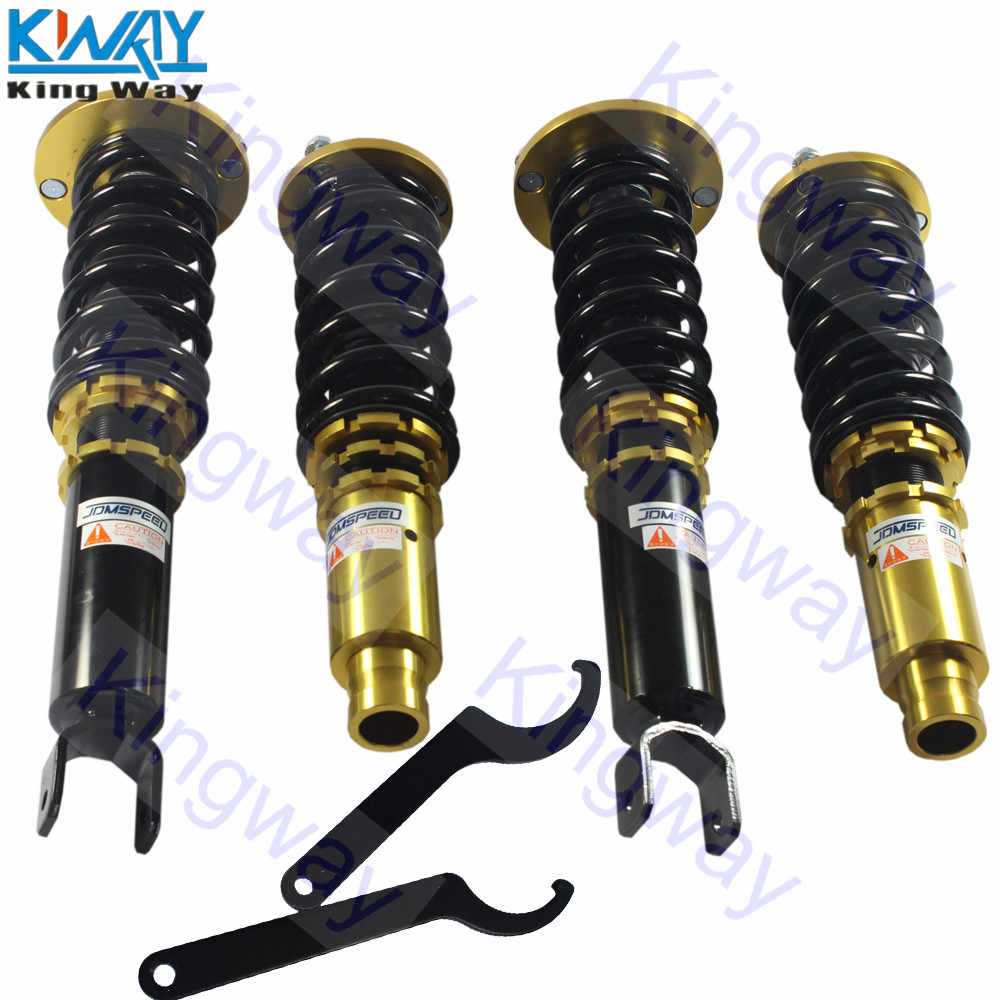 Full Set Coilovers Suspension Kit For Honda Accord 90-97 Shock Absorbers Gold