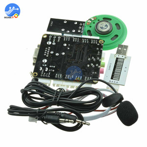 Image 4 - Voice Recognition Module DIY Kit With Microphone Speech Recognition Voice Control Sound Module For Arduino Compatible