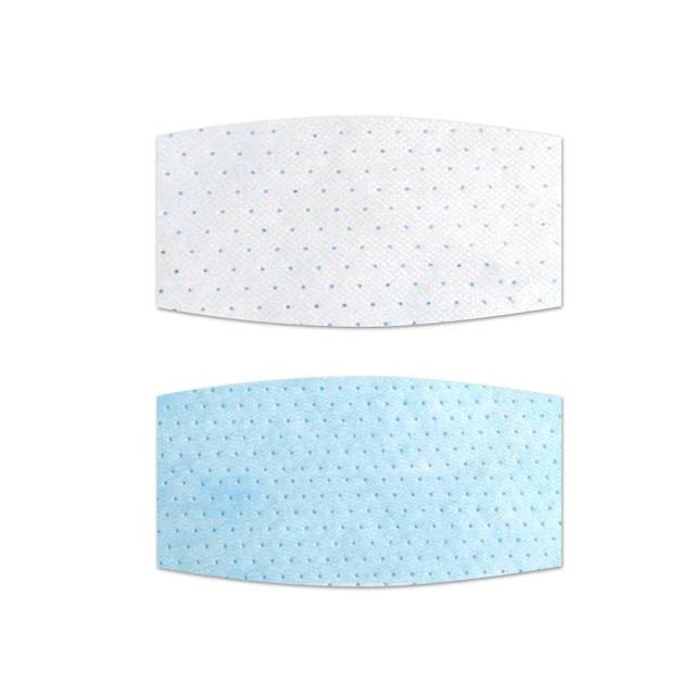 10Pcs/lot Filter Non-woven Bacteria Proof Flu Face Masks Carbon Filter  Mouth-muffle Masks Filter Cartridge For Pm2.5 Kn95 1
